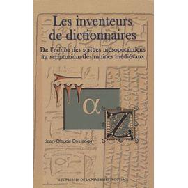 Inventeurs de dictionnaires