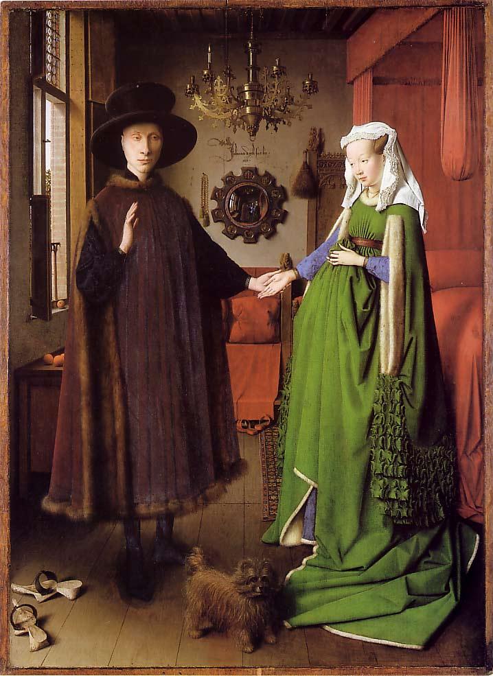 Les époux Arnolfini, Jan Van Eyck, 1434