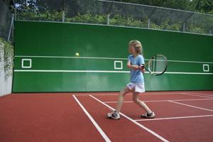 Mur au tennis