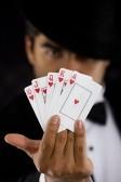 Flush royal poker