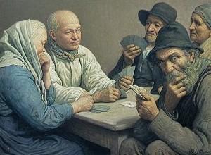Martin Alexandre-Louis Joueurs de cartes