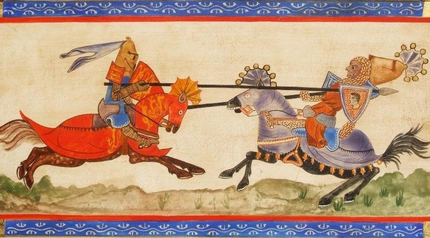Richard coeur de lion contre Saladin